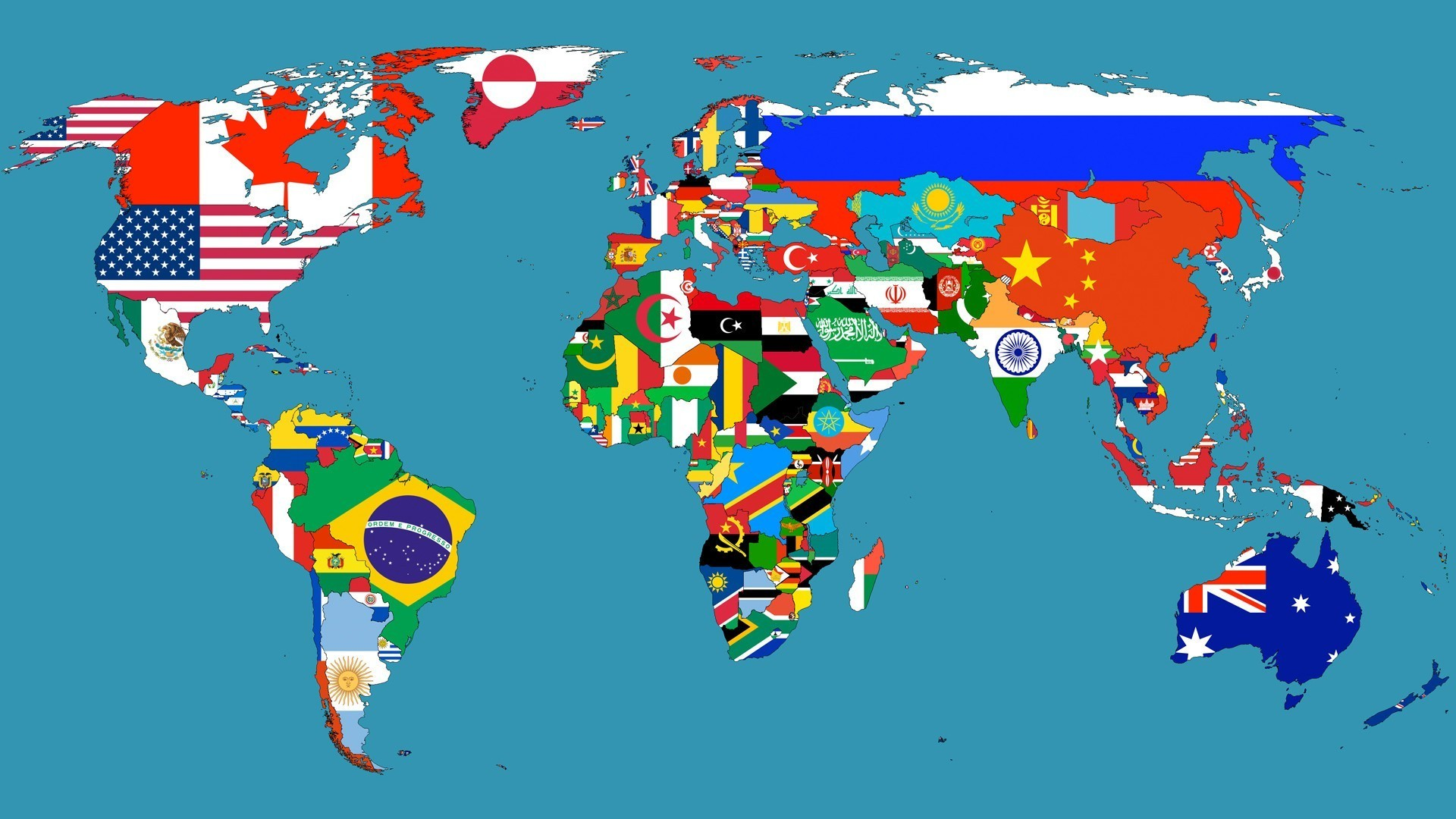 world map with countries africa nazarene university